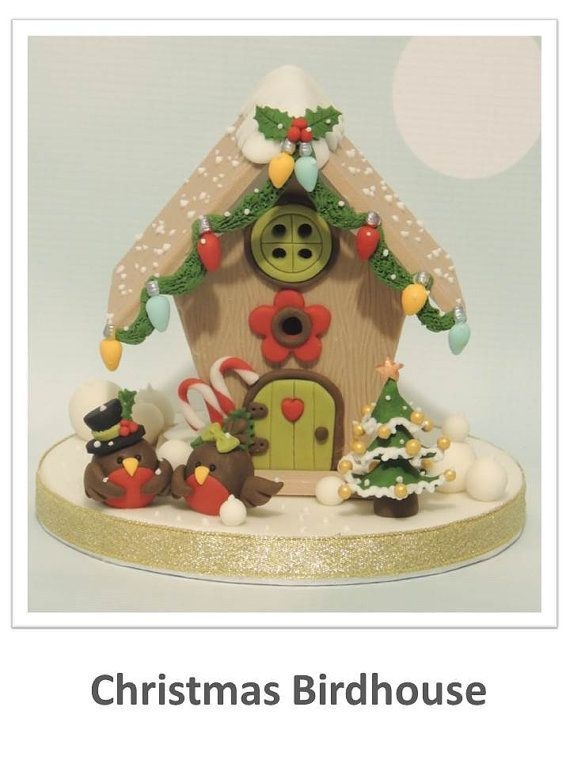 Christmas Bird House Tutorial