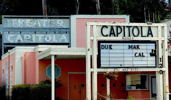 Capitola Theater haunted ghost