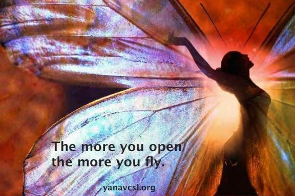 The more you open the more you fly