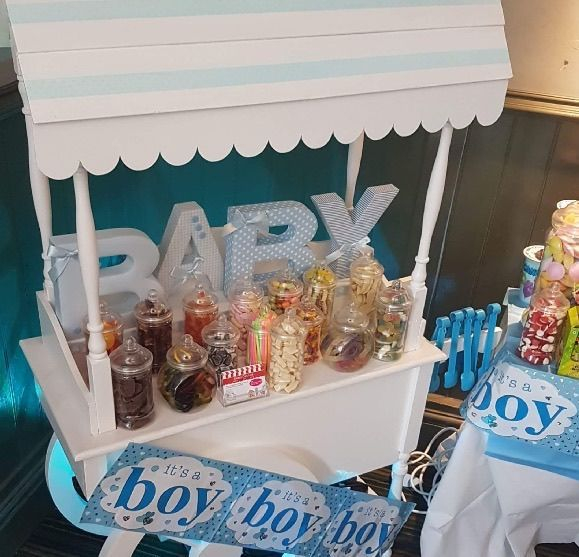 baby shower sweet cart for children