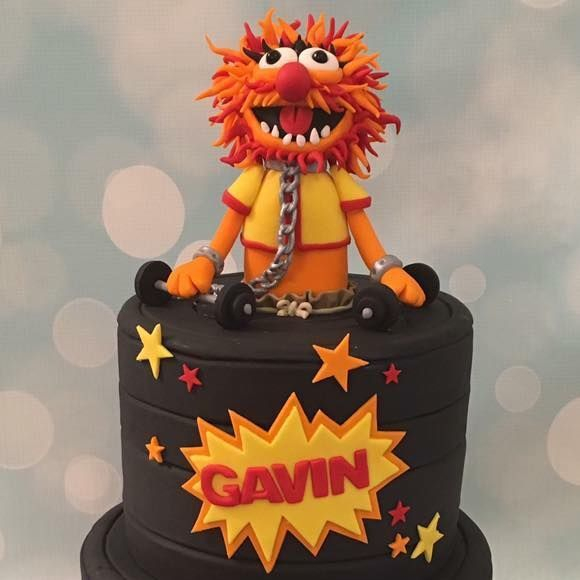 Muppets Novelty Birthday Cake Animal Weights