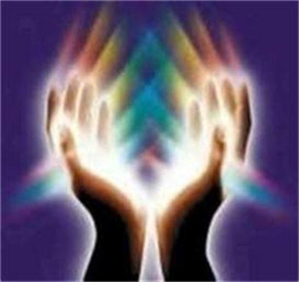 reiki energy helping hands
