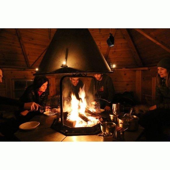 Campfire, wilderness tour