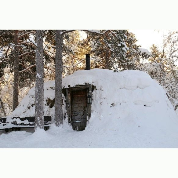 Sami culture, cabin