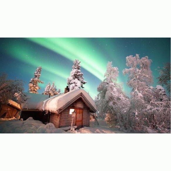 Northern light, Aurora, Kiruna