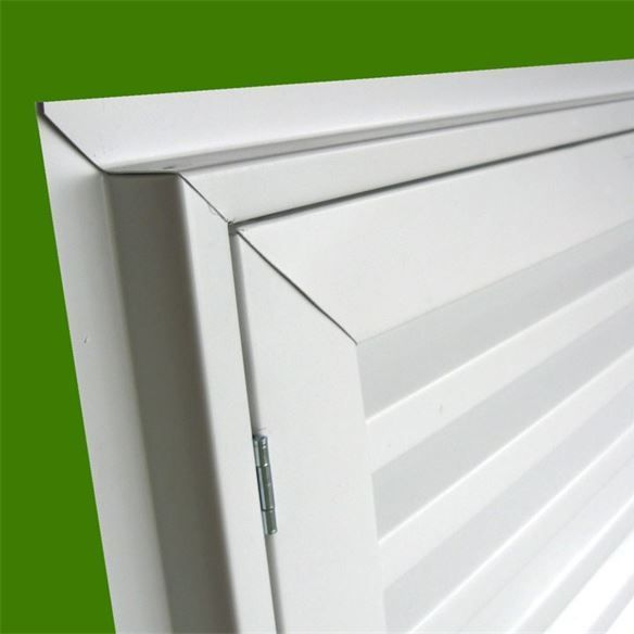 hinged gable vent access door