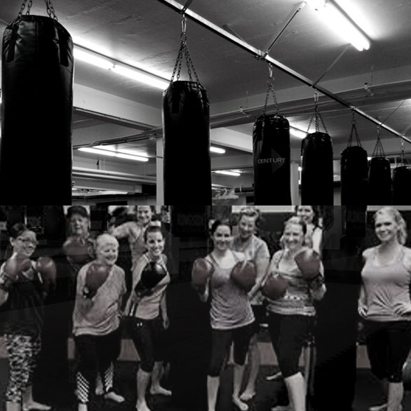 Adult Cardio Kickboxing Classes at 29 Wellington St. South St.Marys Ontario