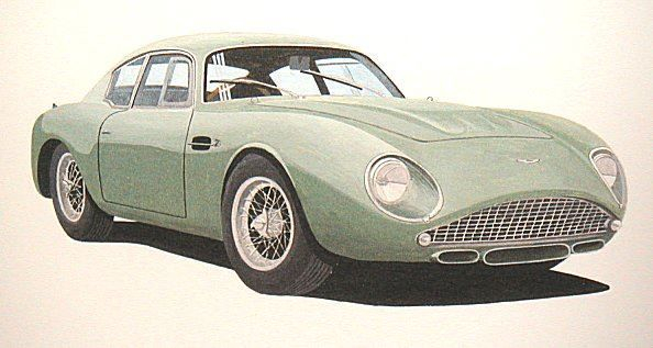 Aston Martyin DB4GT Zagato : Last Few Remaining