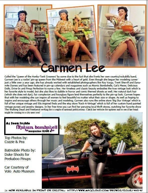 Fashion Bombshell Magazine Issue #4