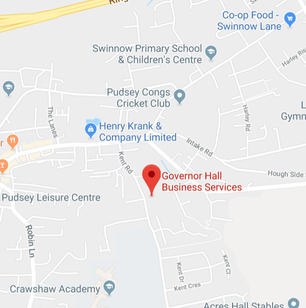 map,Catherine Parker Therapy, Leeds, Calverley