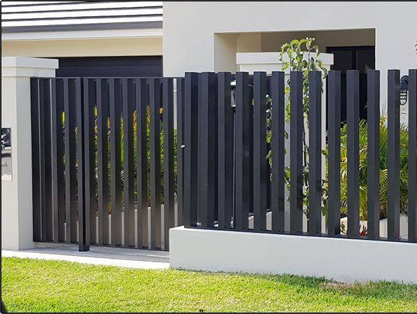 privacy fencing, feature fencing, steel fencing gold coast