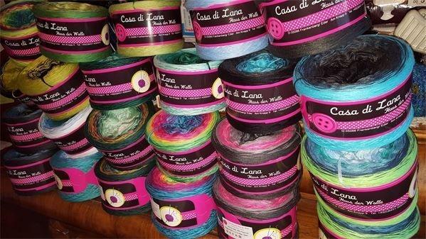 Farbverlaufswolle von Casa di Lana
