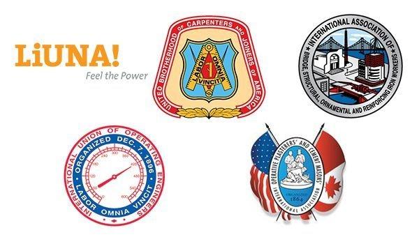 laborer union logos
