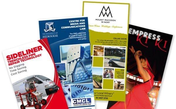 Mixed Brochures Designs