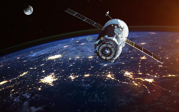 satellite orbiting the Earth