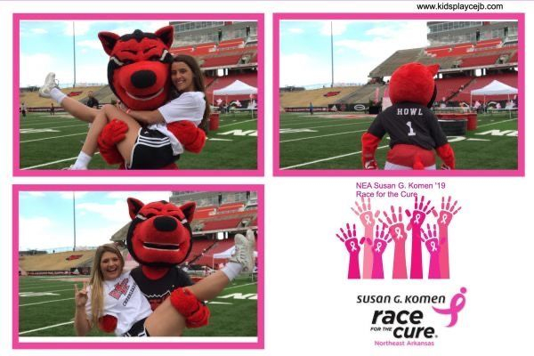 ASU; redwolves; wolvesup; photo booth; office party; ideas; school dance; prom
