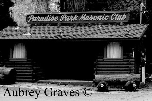 Paradise Park haunted Santa Cruz