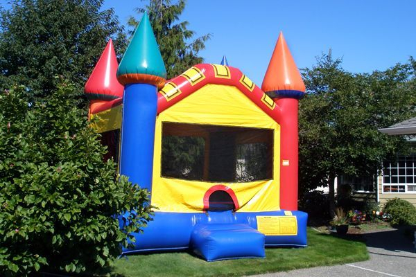 Bounce house party rental birthday planning