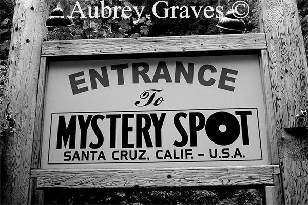 Mystery Spot haunted Santa Cruz