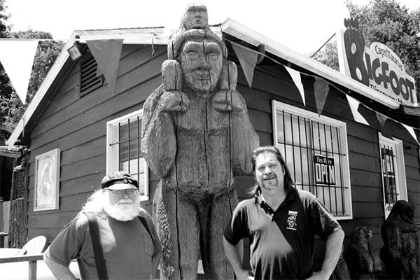 Bigfoot Discovery Museum santa cruz