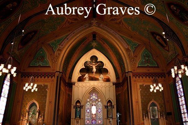 Holy Cross Church  Santa Cruz haunted