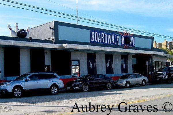 Boardwalk Bowl haunted