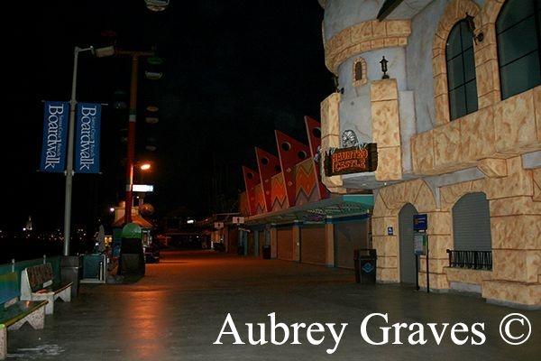 Santa Cruz Beach Boardwalk haunted