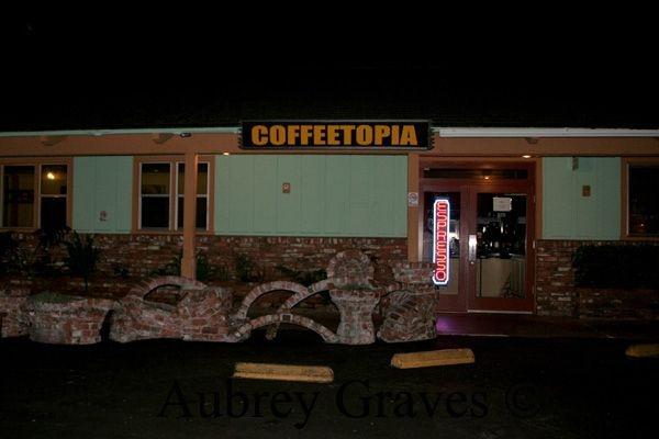 Coffeetopia haunted Santa Cruz