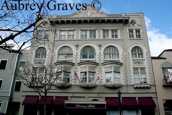 haunted Monterey Hotel ghost