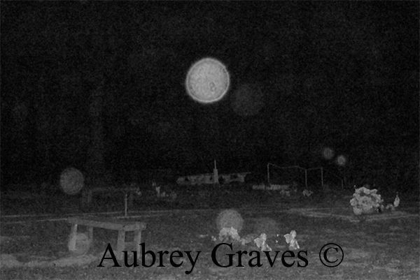 haunted felton cemetery ghosts orb
