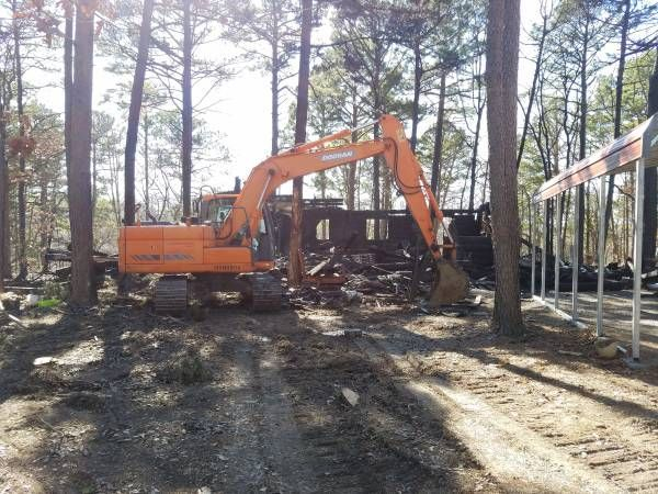 dozer work, road installation, easement road install
