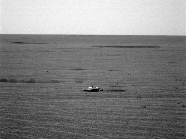 Mars : un mystérieux objet photographié