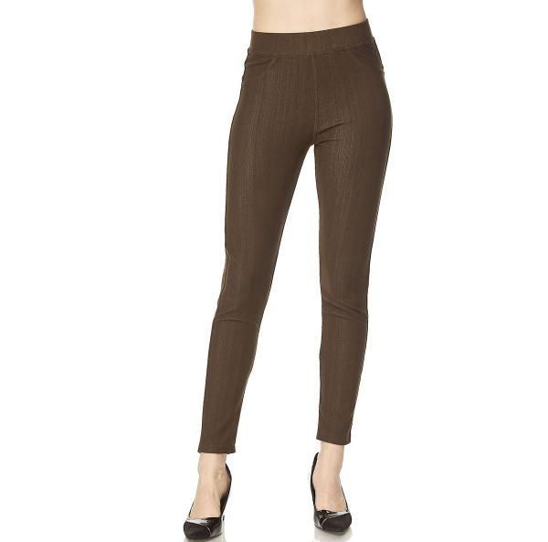 Jegging Jean Brown Size (18-20)