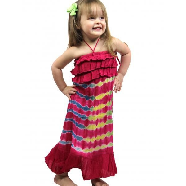 #4696 Pink Child Size S-L Dress