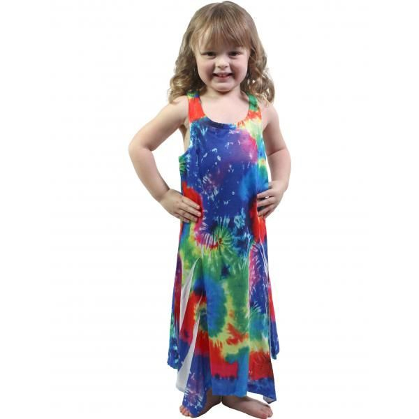 #829 Rainbow Child Size S- L Dress
