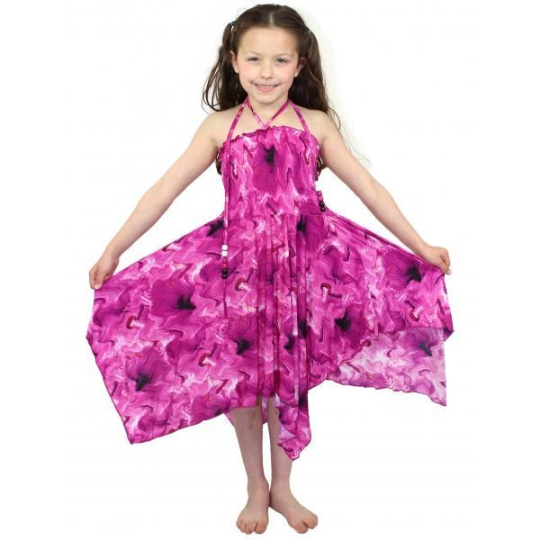 #820 Pink Child Size S-L Dress