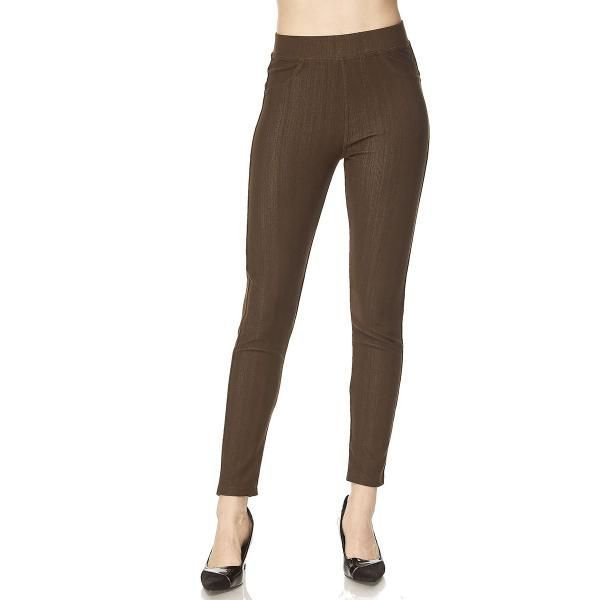 Jegging Jean Brown One Size  (4-12)