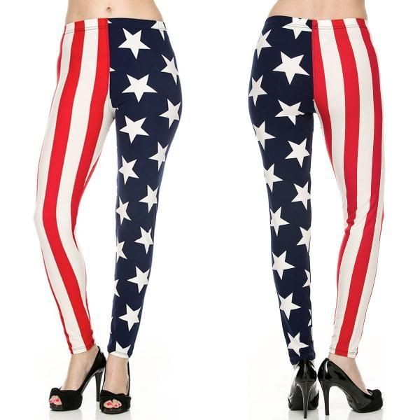 Stars and Strips Leggings