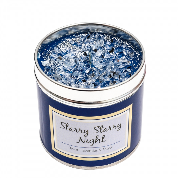 tarry Starry Night - Spearmint with hints of orange, lily, patchouli & musk