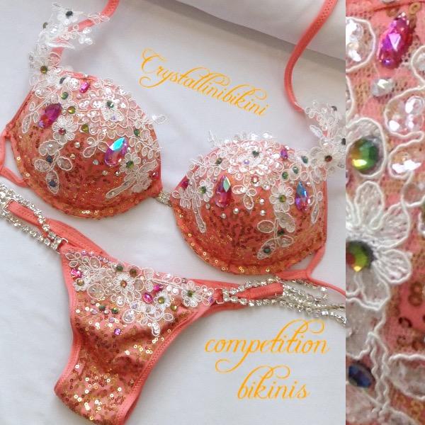 peach wbff bikini