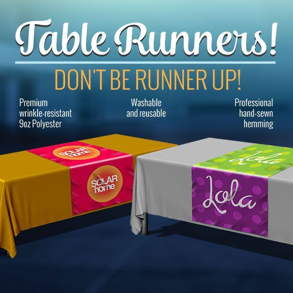 Polyester, Table, Runner, Decorative