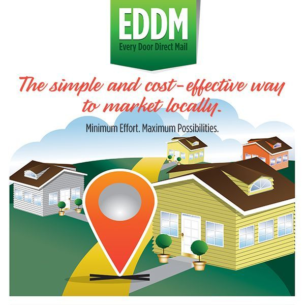 USPS Postal Service Mailing EDDM Every Door Direct Mail Printing