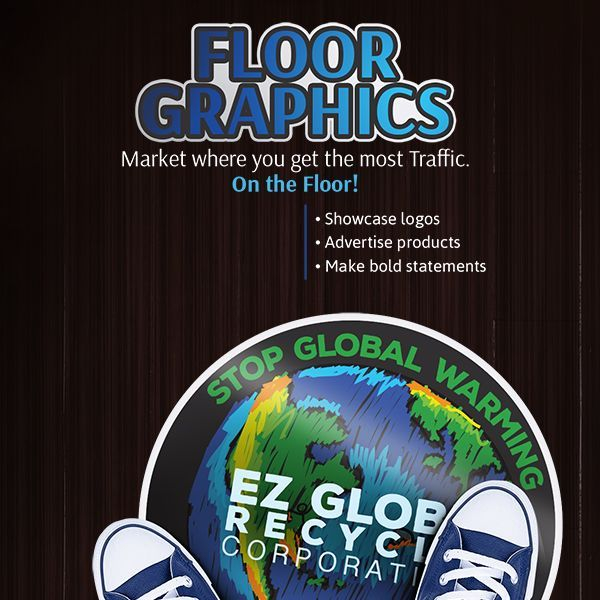 Advertise, Visible, Color, Temporary, Adhesive, Floor, Graphics