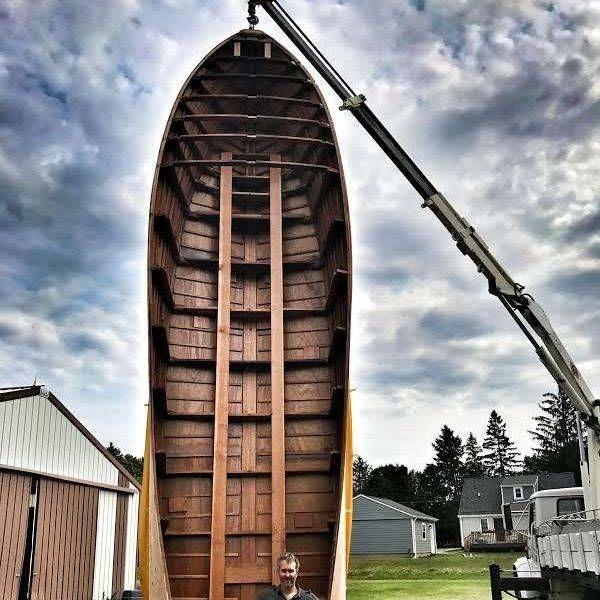 custom boat at shepherd boat co