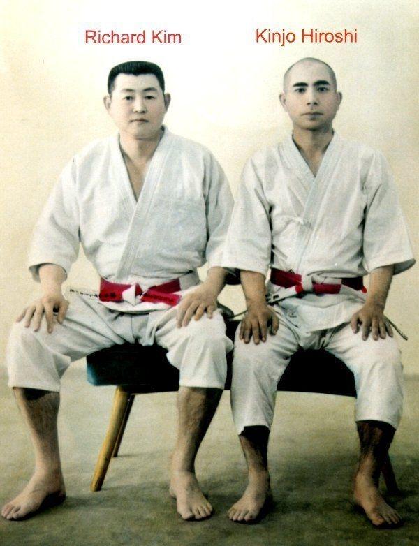 Richard King and Kinjo Hiroshi