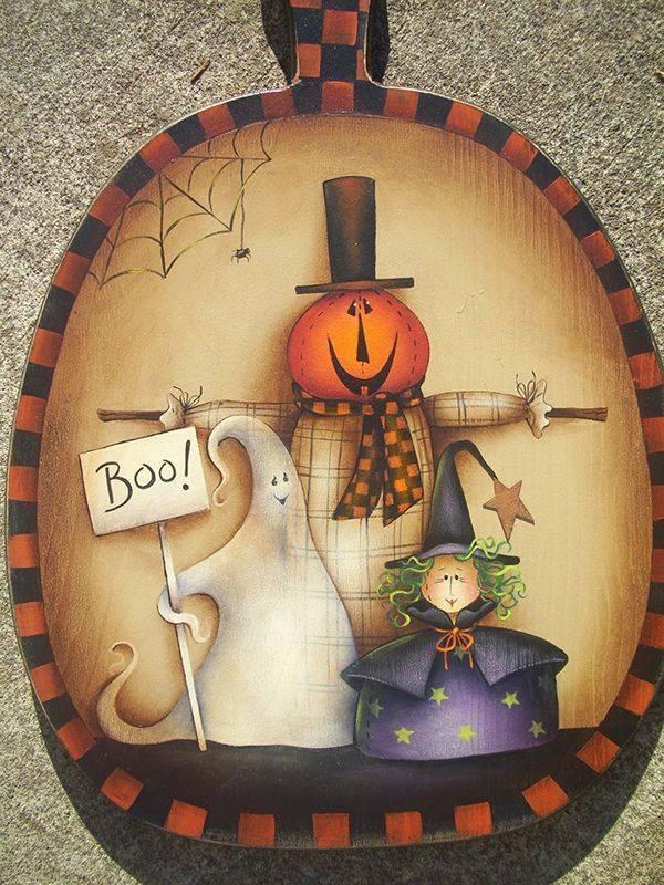 Halloween Trio: Wood Cutout