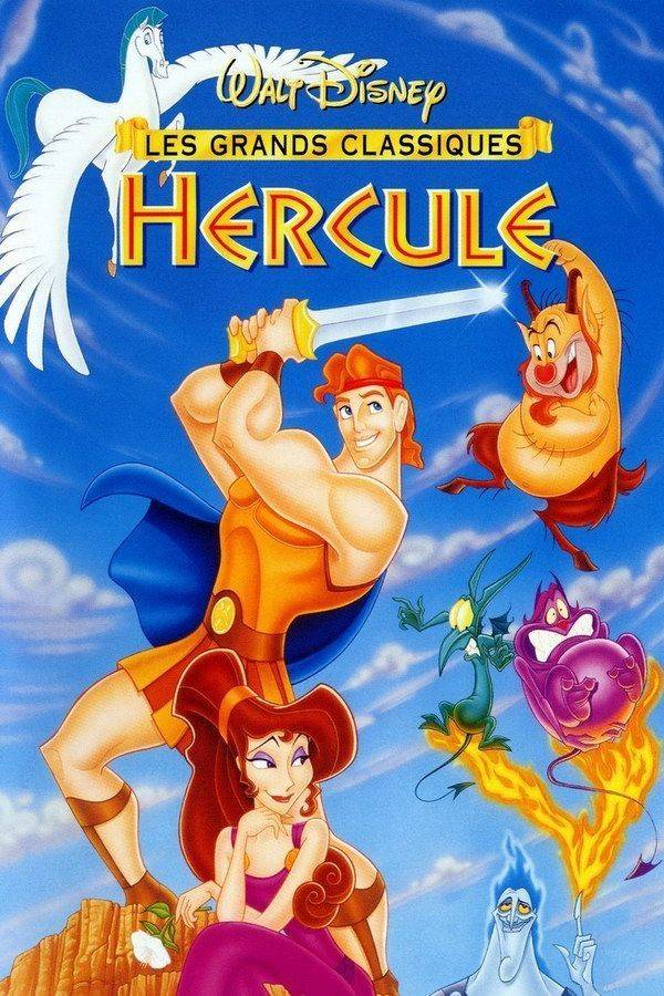 Walt Disney movie poster Hercules