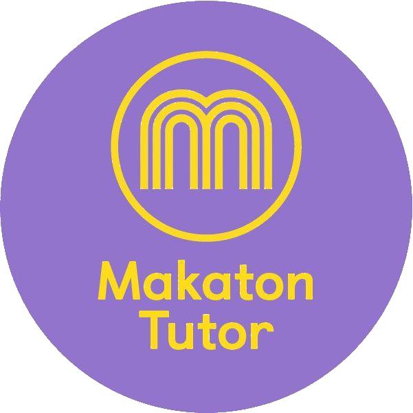 Circular purple logo with a yellow 'perfect' hand symbol