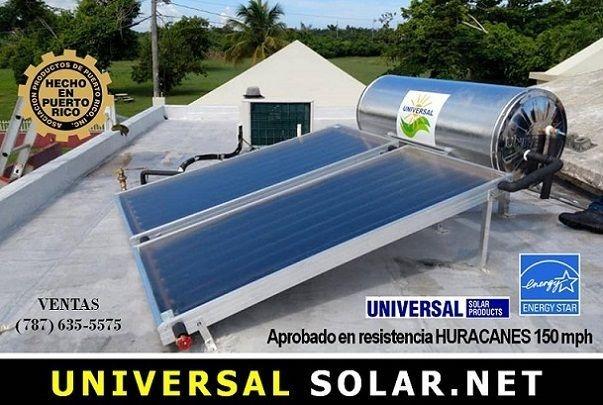 Modelos calentadores solares Puerto Rico