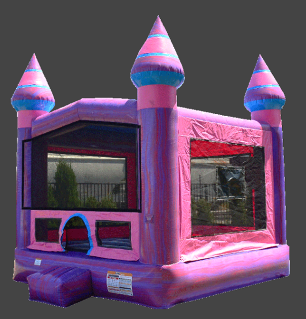 Purplish 13' x 13' Bounce House